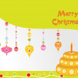 Merry christmas background — Stock Vector #2443103