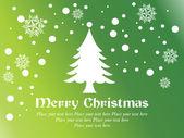 Christmas day wallpaper — Stock Vector