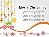Vector christmas day card — Stock Vector