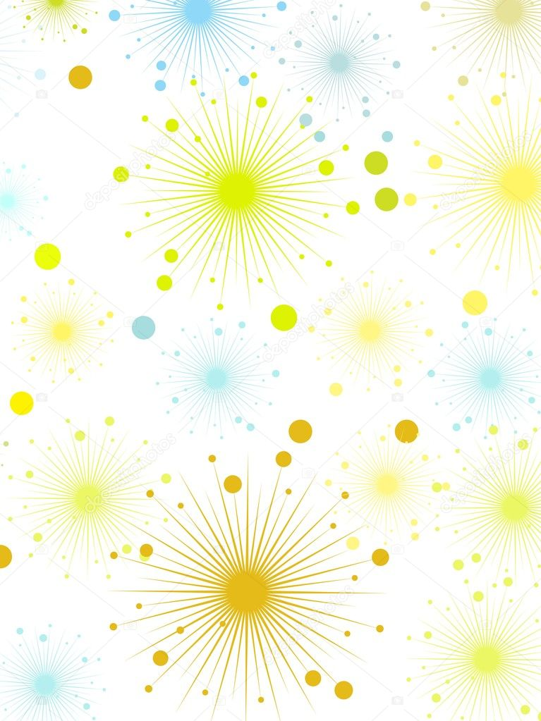 Background with sparkle, vector illustration — Stock Vector #2442136
