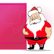 Illustration of christmas day card — Stock Vector