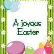Stock Vector: Joyous easter day background