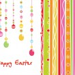Artwork background for easter day — Stock Vector