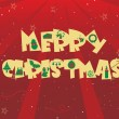 Royalty-Free Stock Imagem Vetorial: Vector for merry christmas day