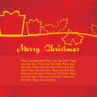 Background for christmas day — Stock Vector #2464463
