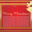 Merry christmas wallpaper - Stock Vector