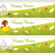 Royalty-Free Stock Vektorgrafik: Easter day banner