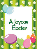 A joyous easter day background — Stock Vector