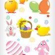 Easter day holiday object — Stock Vector
