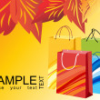 Colorful shopping bags, vector design19 — Stock Vector #2487788
