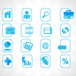 Royalty-Free Stock Vector Image: Complete web Icons collection