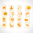 Complete web Icons collection - Image vectorielle