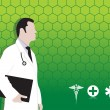 Medical background — Stockvektor #2489825