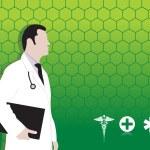 医疗背景 — 图库矢量图片