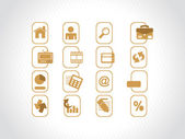 Complete web Icons collection — Stock Vector