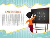 Resumo educação backgorund — Vetor de Stock