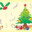 Royalty-Free Stock Vector Image: Decorative christmas tree