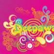 Artwork background for deepawali — Stock Vector