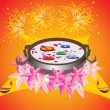 Royalty-Free Stock Vector Image: Deepawali background wallpaper