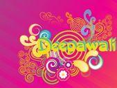 Artwork background for deepawali — Stock Vector