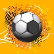 Football with background - Image vectorielle