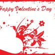 Royalty-Free Stock Vector Image: Grungy valentine illustration