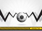足球背景与障碍 — 图库矢量图片