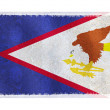 Flag of American Samoa on background — Stock Photo