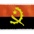 Flag of Angola on background — Stock Photo #2577463