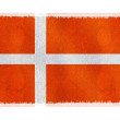 Flag of Denmark on background — Stock Photo