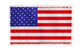 Flag of America on background — Stock Photo