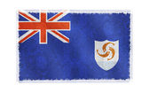 Flag of Anguilla on background — Stock Photo
