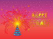Background for diwali — Stock Vector