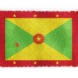 Flag of Grenada on background — Stock Photo