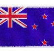 Flag of New Zealand on background — Stock Photo