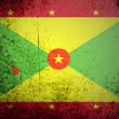 Flag of Grenada on background — Foto de Stock