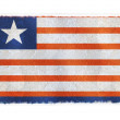 Flag of Liberia on background — Stock Photo
