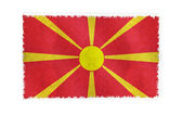 Flag of Macedonia on background — Stock Photo