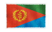Flag of Eritrea on background — Stock Photo