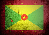 Flag of Grenada on background — Stock Photo