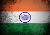 Flag of India on background — Stock Photo