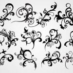 Set of retro tattoos — Stock Vector #2629126