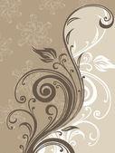 Halftone filigree pattern background — Stock Vector