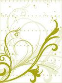 Creative floral pattern illustration — Stock Vector