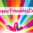 Royalty-Free Stock Vector Image: Illustration of friendship day