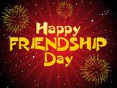 счастливый дружбы день иллюстрация — Cтоковый вектор