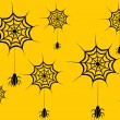 Vector de stock : Wallpaper for halloween day
