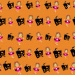 Funky halloween vector sheet34 — Stock Vector