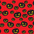 Stock Vector: Funky halloween vector sheet45