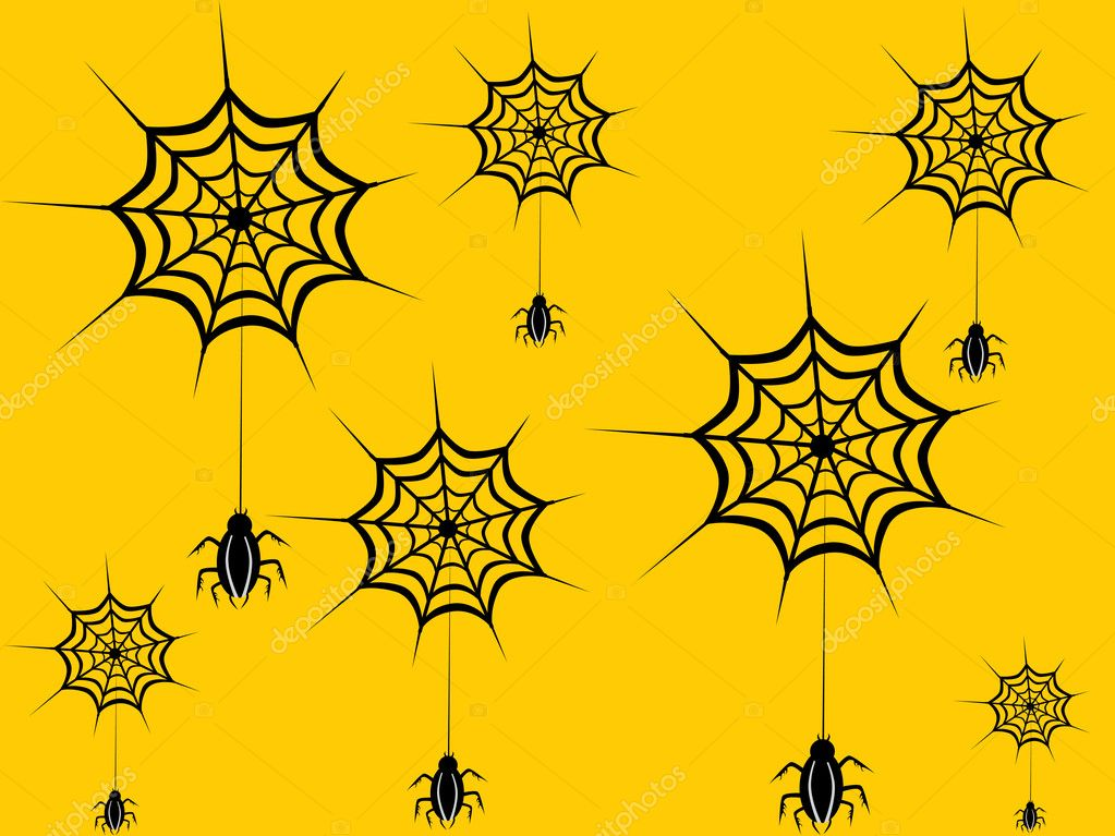Vector wallpaper for halloween day — Stock Vector #2668920